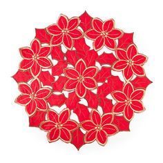 Christmas Cutwork Embroidery Placemats at Big Lots.Everone wants these! #BigLots