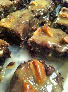 New Orleans Praline Brownies