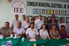 Instalación del CME de Manzanillo para el Proceso Electoral 2014-2015