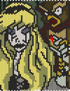 Sleeping Beauty Bead Pattern