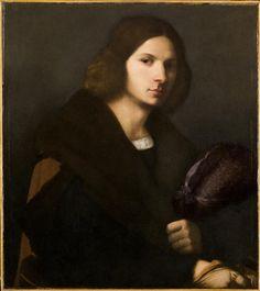Portrait of a Young Man - Giorgione (circle) - ca. 1510-20 inv. 4579 | Museo Poldi Pezzoli