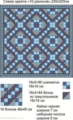 Лоскутное одеяло из старых джинсов. Обсуждение на LiveInternet - Российский Сервис Онлайн-Дневников