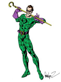 The Riddler by Jose Luis Garcia-Lopez *