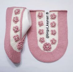 Crochet Slipper Pattern, Crochet Slippers, Beginner Knitting Patterns, Knitting For Beginners, Tunisian Crochet Stitches, Knit Crochet, Good Morning Flowers Gif, Knitted Owl, Girls Dresses Sewing
