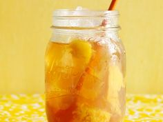 Peach-Ginger Iced Tea Recipe | Food Network Kitchen | Food Network