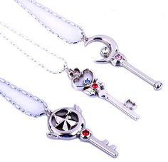 The only necklaces I would wear, the nostalgia in wanting all these it staff form!!