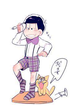 おそ松さん Osomatsu-san 短パン一松