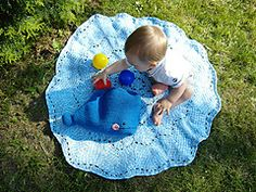 Ravelry: Willy the Whale and the Splish-Splash Blanket pattern by Justyna Kacprzak