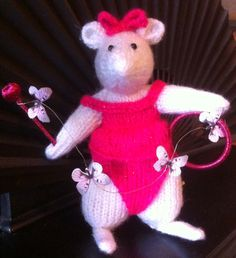 Lou-Lou butterfly trainer Beth's mouse circus 2015 from aunty Roz