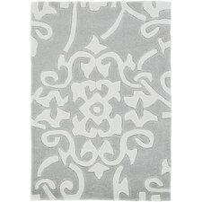 Windsor Hand-Tufted Medium Gray Area Rug