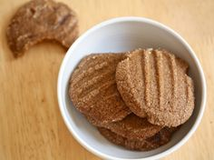 Recipe: Ginger Snaps_    The brown rice makes for a tender, melting foil to the sharp bite of ginger, and a dusting of raw sugar finishes off this classic holiday treat.