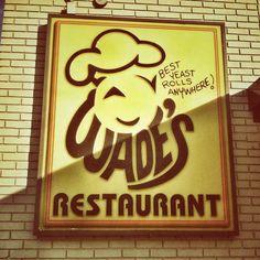 Go taste the famous homemade Yeast Rolls! @Wade's Family Restaurant in Spartanburg, SC