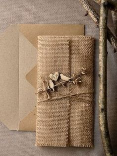 Pesquisas de Noiva: Inspirações: convites rústicos para casamento