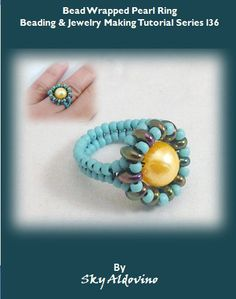 Rose, rose I love you! Beading & Jewelry Making Tutorial T175