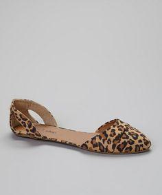 Look at this #zulilyfind! Leopard Buckle Flat #zulilyfinds