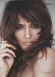 Helena Christensen Hair and nails Hairstyles With Bangs, Pretty Hairstyles, Braided Hairstyles, Model Hairstyles, Haircut Tip, Haircut And Color, Helena Christensen, Creative Hairstyles, Tips Belleza
