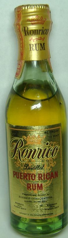 Ron Rico Old mini Bottle