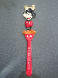 Mickey Mouse Back Scratcher - Walt Disney World Souvenir vintage.  I'm not sure this is vintage, my husband has one and we bought it several years ago.