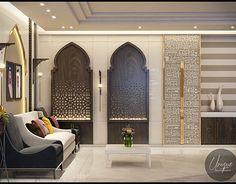 Luxury Arabic parametric office on Behance Luxury Home Decor, Luxury Interior Design, Interior Exterior, Luxury Homes, Luxury Store, Arabian Decor, Islamic Decor, Moroccan Interiors, Moroccan Design