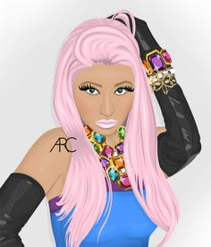 Nicki ♡ Minaj artwork.