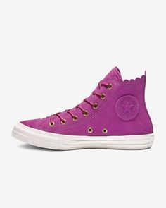 Chuck Taylor All Star Frilly Thrills High Top Womens Shoe 223cb88d370e