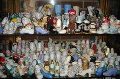 Miniature shoes  (p/o a larger collection) by B-Kay, via Flickr