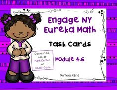 Use these to review your lesson or give extra practice!**6-9-16-I've added a QR code so students can check their own work.-I've added Task Card-Sized~~ Title, Directions, and Answer Cards.-I've added a white background set to save on ink!Task Cards for Early FinishersMath Center to review lessonWhole group Scoot gameIntervention to review skillsEngage NY is aligned with Common Core.Please download preview to see what is included! **Answer key included!!