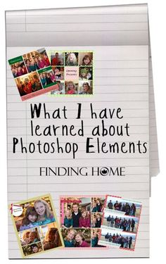 Photoshop Elements tips
