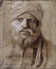Giovanni Bellini, Man with a Turban on ArtStack #giovanni-bellini #art