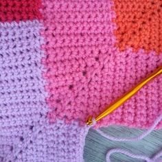 10 Stitch Crochet Blanket Pattern  (Try in multi-colored yarn - see knit sample link) | AllFreeCrochetAfghanPatterns.com