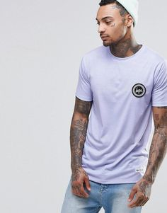 Hype   Hype T-Shirt With Crest Logo at ASOS