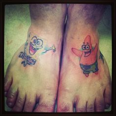 A best friend tattoo design. this is something me and steph would do lol