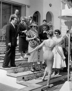 Brigitte Bardot, Cannes 1956.