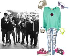 """If I Were In R5 185"" by jordybell ❤ liked on Polyvore"