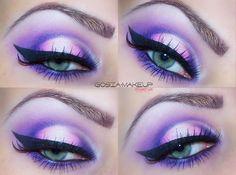 fantasy purple Makeup Tutorial - Makeup Geek