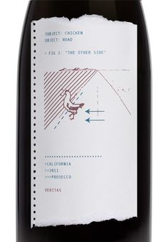 Veritas Champagne by Jenny Savage, via Behance