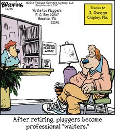 Pluggers by Gary Brookins  (Nov/28/2014).