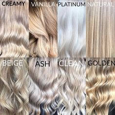 Blonde color terminology Blonde color terminology Related Post Bob Short Blonde Balayage Fresh Ash Blonde Hair Color Shades You Must Try Ri. The Biggest Blonde Trends for Spring 2016 A perfect color for brunettes who want to go light. Ombre Hair, Balayage Hair, Haircolor, Color Rubio, Blonde Color, Neutral Blonde Hair, Toner For Blonde Hair, Cream Blonde Hair, Gray Hair