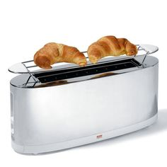 ALESSI  Toaster  (You can admire yourself and eat your breakfast at the same time)