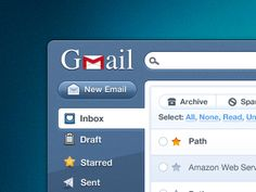 Gmail Pokki Final Ui by Julien Renvoye