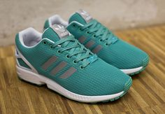 "adidas Womens ZX Flux ""Turquoise"" #sneakers #fashion"