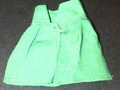 "BARBIE / SINDY green shorts 3"" L 2.5"" W"