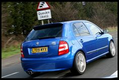 Is the vRS still the 'king'? Skoda Fabia, Performance Cars, Mk1, Cars And Motorcycles, Golf, Blue, Motorbikes, Automobile, Wave