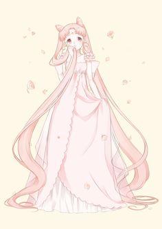 Small Lady (ChibiUsa) by もちつき 鏡 - Sailor Moon fanart