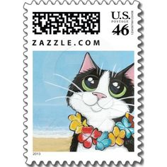 Hawaiian Cat - Small Postage.  $21.12 for a sheet of 20