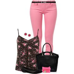 PinkPetal, created by hollyhalverson on Polyvore