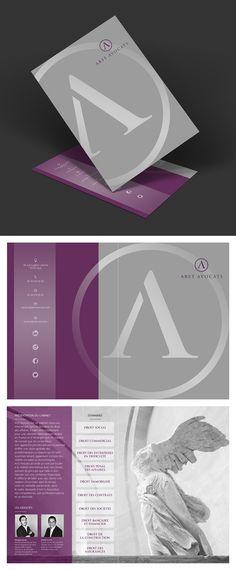 Design #22 by AleMiglio   Création de la plaquette Arst Avocats