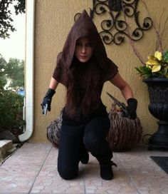 Rogue assassin thief cosplay costume. World of Warcraft & Guild Wars inspired ^.^