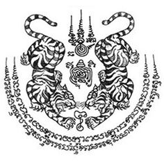ผลการค้นหารูปภาพสำหรับ sak yant meaning and designs Sak Yant Tattoo, Sanskrit Tattoo, 1 Tattoo, Back Tattoo, Maori Tattoos, Thailand Tattoo, Thailand Art, Muay Thai Tattoo, Khmer Tattoo