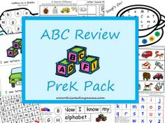 photo of ABC Review PreK Pack